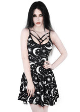 Load image into Gallery viewer, Killstar Under The Stars Sun Dress - Kate's Clothing