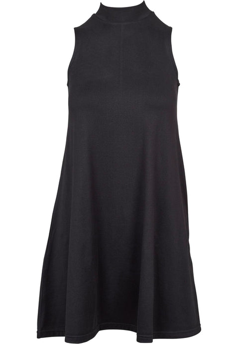 Urban Classics Plus Size A-line Turtleneck Dress