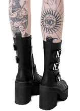 Load image into Gallery viewer, Killstar Vendetta Boots - Kate's Clothing