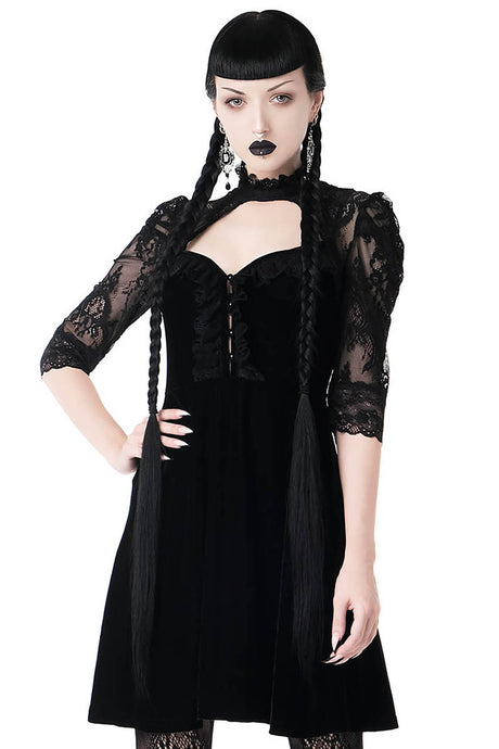 Killstar Violet Lace Dress