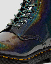Load image into Gallery viewer, Dr. Martens Vegan 1460 Pascal Iridescent Boots - Gunmetal - Kate's Clothing