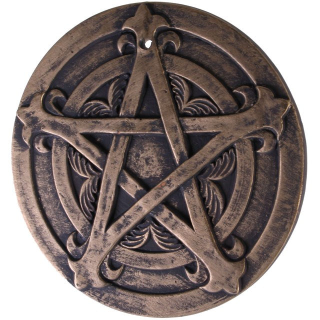 Gothic Gifts Pentagram Wall Plaque