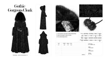 Load image into Gallery viewer, Punk Rave Margot Cloak - Kate's Clothing