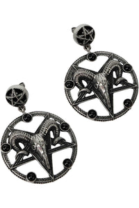 Killstar Templar Earrings - Kate's Clothing