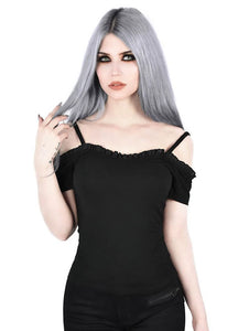 Killstar Ylva Bardot Top - Kate's Clothing