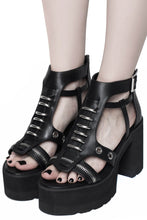 Load image into Gallery viewer, Killstar Dark Arts Sandals - Kate's Clothing
