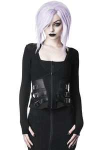 Killstar Rituel Mesh Bolero - Kate's Clothing