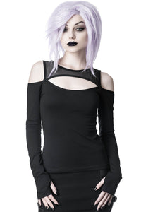 Killstar Seraphim Long Sleeve Top - Kate's Clothing