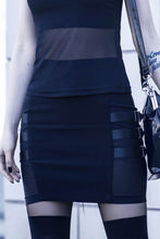 Load image into Gallery viewer, Killstar Trax Mini Skirt - Kate's Clothing