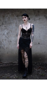 Pamela Mann Plus Size Barbed Wire Gothic Tattoo Tights - Kate's Clothing