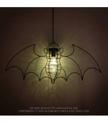 Alchemy Gothic Bat LED Light - Kate's Clothing