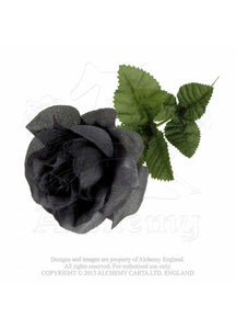 Alchemy Gothic Imitation Black Rose