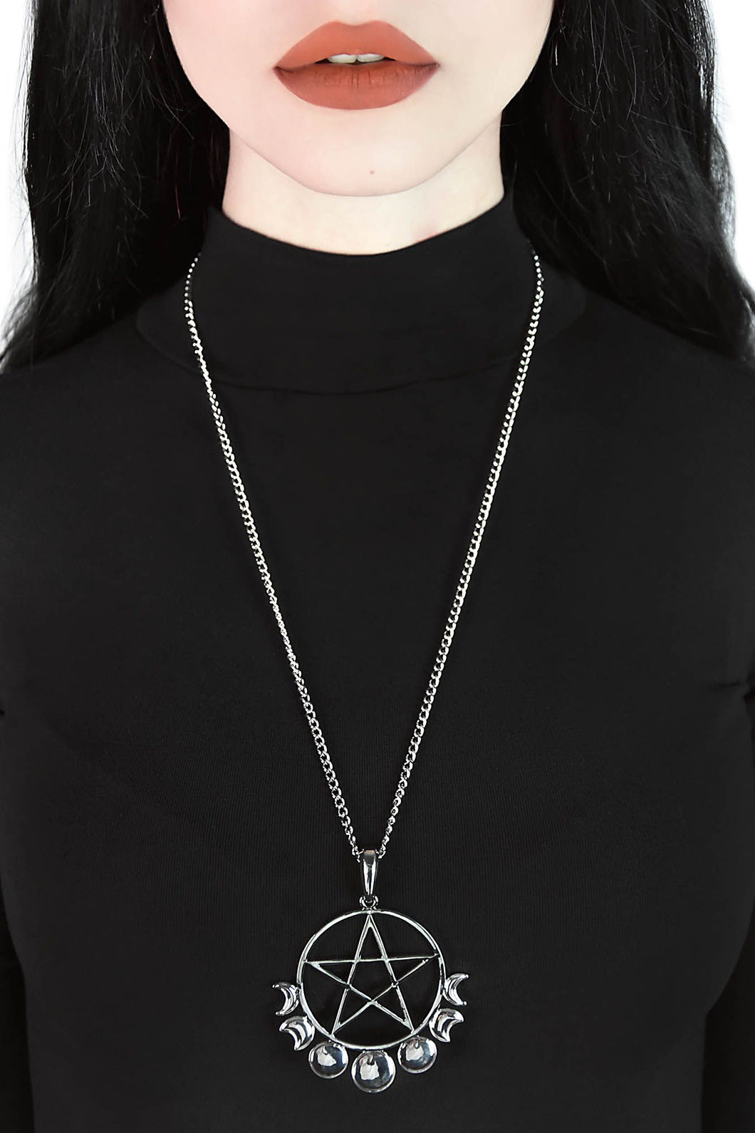 Killstar Opus Pentacle Necklace - Kate's Clothing