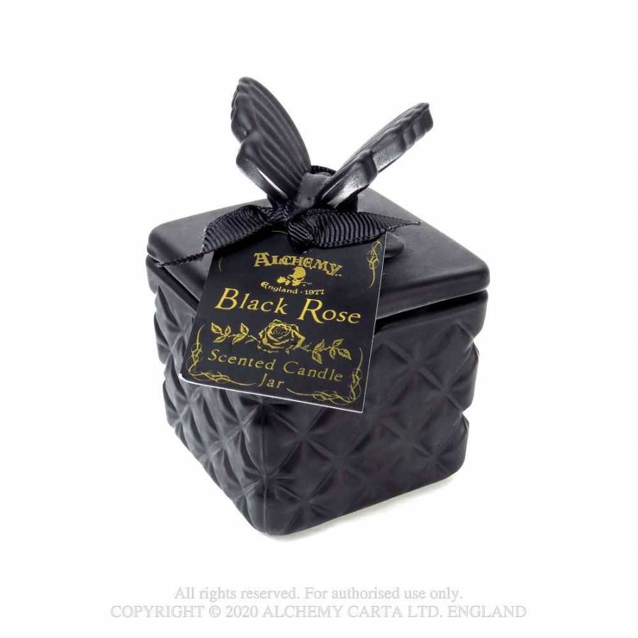Alchemy Gothic Butterfly Scented Candle Jar