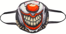 Load image into Gallery viewer, Gothic Gifts Reusable Adult Face Mask - Clown Face - Kate's Clothing
