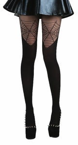 Pamela Mann Cobweb Over The Knee Tights - Kate's Clothing