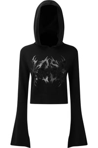 Killstar Entombed Hood Sweater - Kate's Clothing