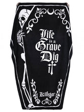 Load image into Gallery viewer, Killstar Dig It Coffin Towel - Kate's Clothing