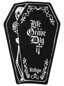 Killstar Dig It Coffin Towel - Kate's Clothing