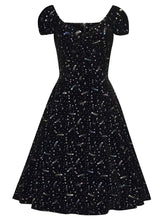 Load image into Gallery viewer, Collectif Dolores Starburst Velvet Doll Dress