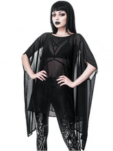 Load image into Gallery viewer, Killstar Dominia Mesh Tunic - Kate's Clothing