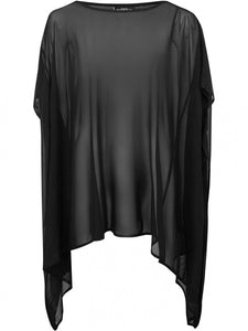 Killstar Plus Size Dominia Mesh Tunic - Kate's Clothing