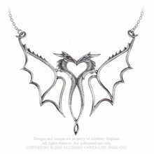 Load image into Gallery viewer, Alchemy Gothic Dragon Consort Necklace - Kate's Clothing