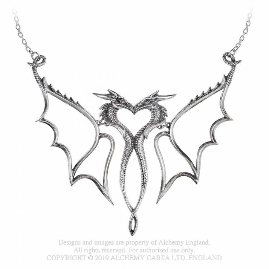 Alchemy Gothic Dragon Consort Necklace - Kate's Clothing