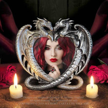 Load image into Gallery viewer, Alchemy Gothic Dragon's Heart Photo Frame