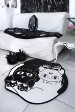 Load image into Gallery viewer, Killstar Yin Yang Area Rug - Kate's Clothing