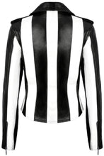 Load image into Gallery viewer, Killstar Beetlejuice Vegan Leather Jacket - Kate's Clothing