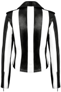 Killstar Beetlejuice Vegan Leather Jacket - Kate's Clothing