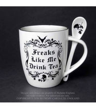 Load image into Gallery viewer, Alchemy Gothic Freaks Like Me: Mug and Spoon Set - Kate's Clothing