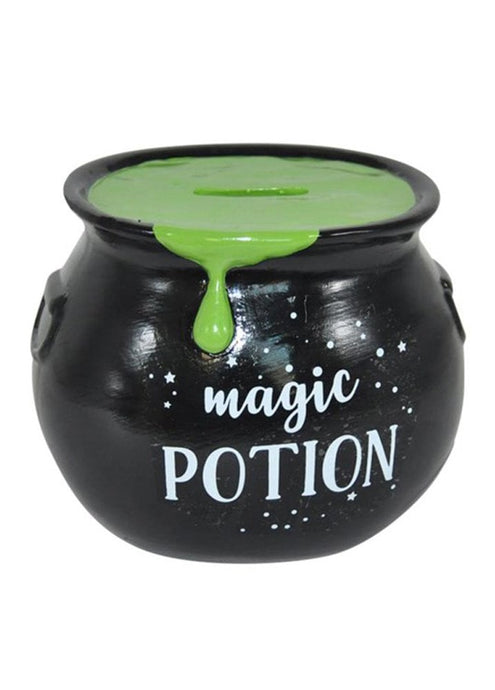 Gothic Gifts Magic Potion Money Box - Green