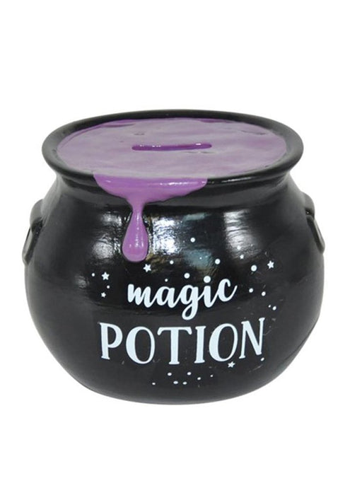 Gothic Gifts Magic Potion Money Box - Purple