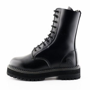 Grinders Taylor CS Black Boots - Kate's Clothing