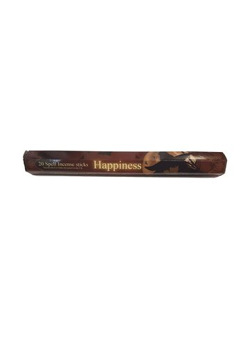 Gothic Gifts Happiness Spell Incense Pack of 20 Sticks - Kate's Clothing