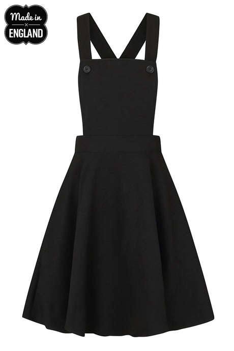 Hell Bunny Amelie Pinafore Dress - Kate's Clothing