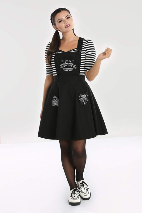 Hell Bunny Samara Pinafore Dress - Kate's Clothing