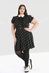 Hell Bunny Plus Size Ribcage Mini Dress - Kate's Clothing