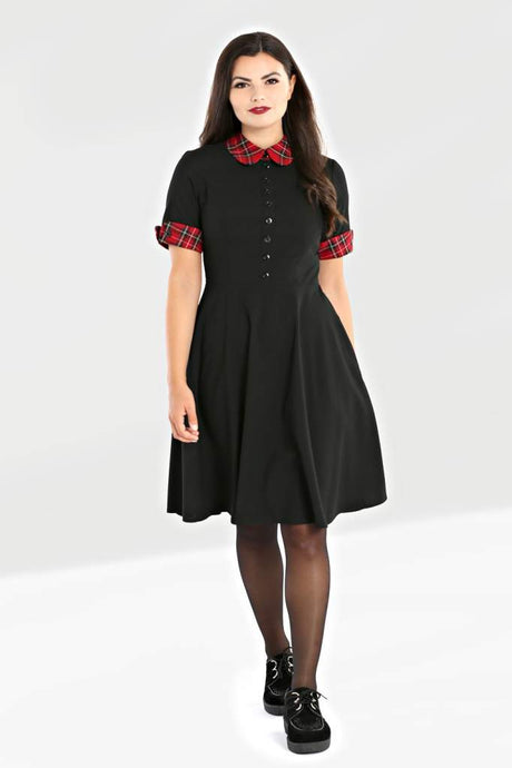 Hell Bunny Tiddlywinks Mid Dress - Kate's Clothing
