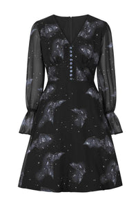 Hell Bunny Plus Size Twilight Midi Dress - Kate's Clothing