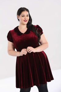 Hell Bunny Plus SIze Blaise Mini Dress - Kate's Clothing
