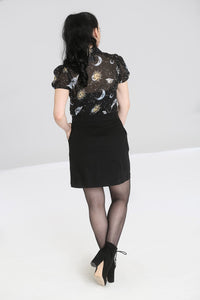 Hell Bunny Plus Size Interstellar Mini Skirt - Kate's Clothing