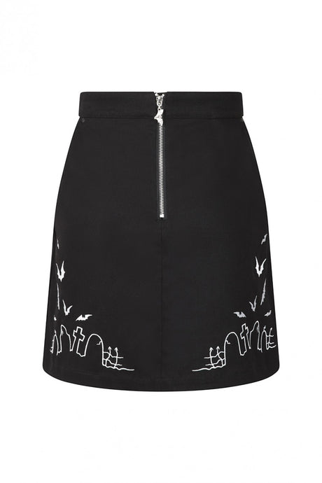 Hell Bunny Plus Size Cullen Mini Skirt - Kate's Clothing