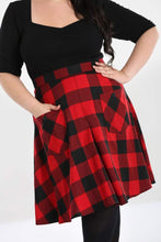 Load image into Gallery viewer, Hell Bunny Plus Size Teen Spirit Mid Skirt - Kate's Clothing