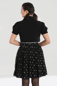 Hell Bunny Ribcage Mini Skirt - Kate's Clothing