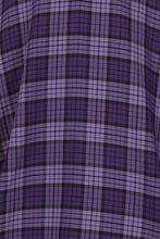 Load image into Gallery viewer, Hell Bunny Kennedy Purple 50's Skirt