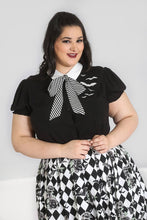 Load image into Gallery viewer, Hell Bunny Plus Size Trixie Blouse