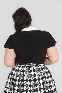 Hell Bunny Plus Size Trixie Blouse